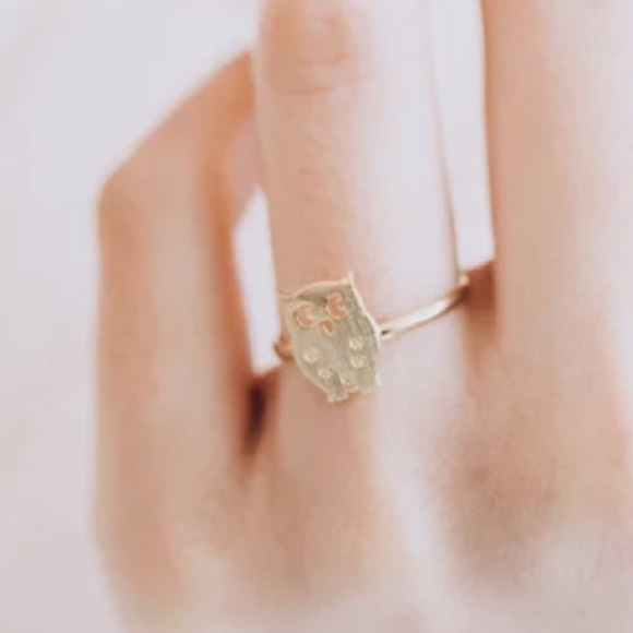 Boutique Jewelry - NEW Owl ring in gold